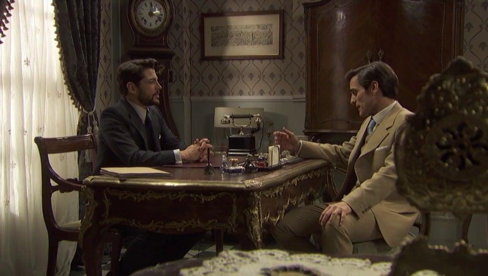 Aquilino pide una contraprestación a Hernando