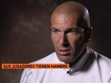 """Zidane: """"No se me sube a la cabeza ganarlo todo, siempre tengo hambre"""""""