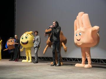 Premiere mundial de 'Emoji: la película'
