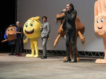 Starlite acoge la 'premiere' mundial de 'Emoji: la película'