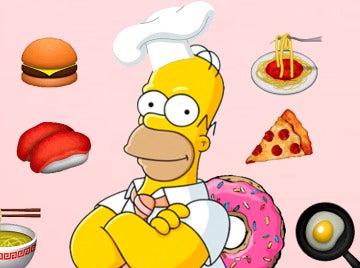 El menú de Homer