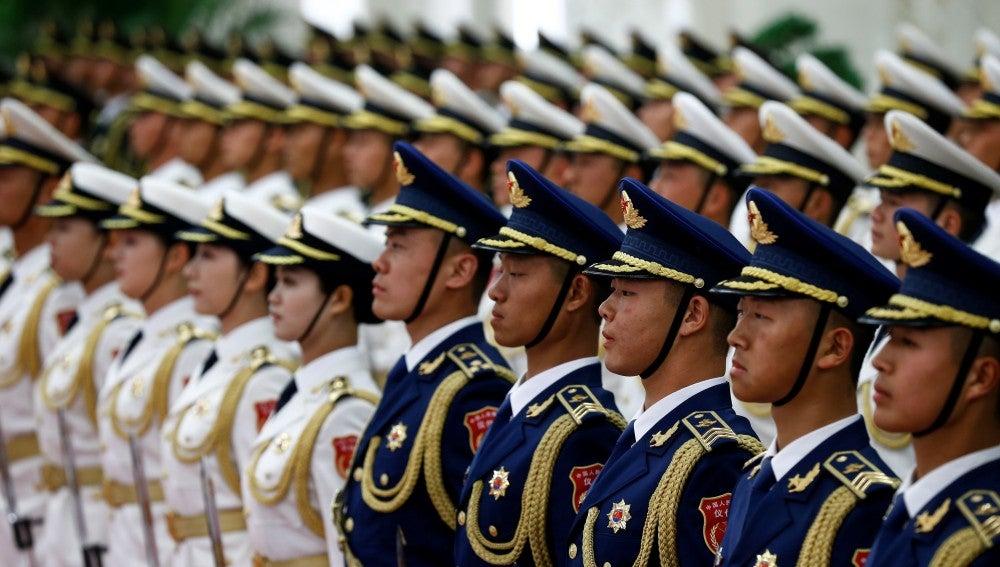 Masivo desfile militar del Ejército chino