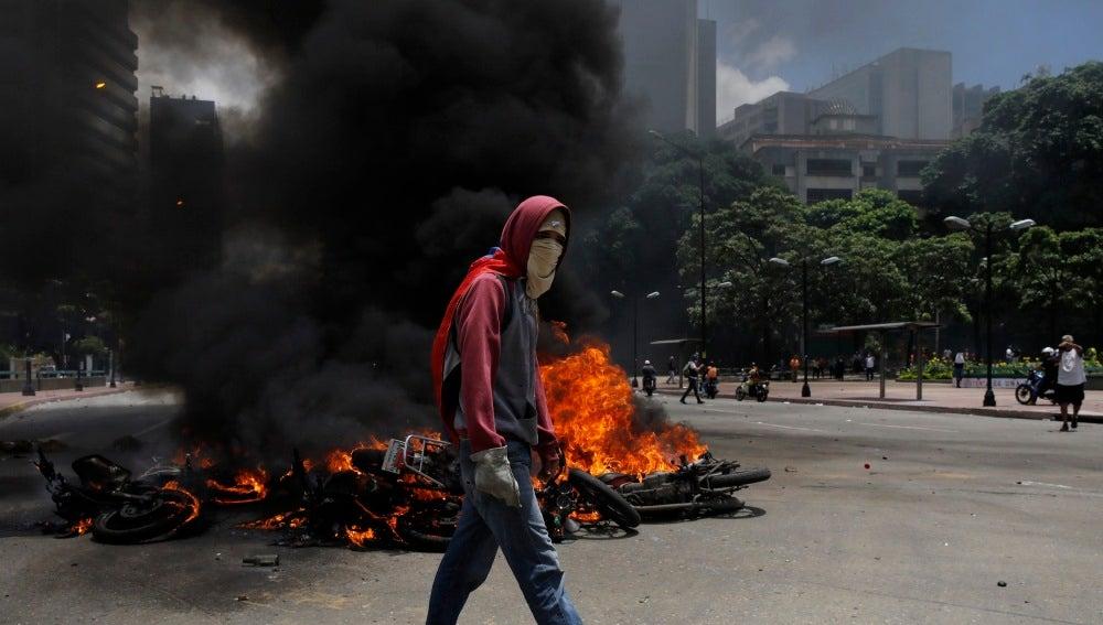 Ola de violencia en Venezuela