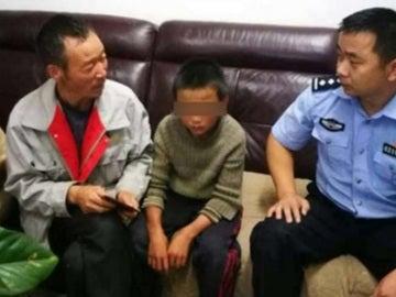 El niño se reunió con sus padres 24 días después