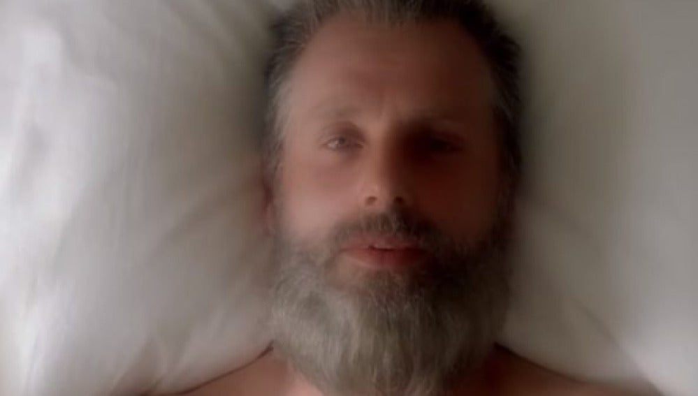 Viejo Rick en la octava temporada de 'The Walking Dead'