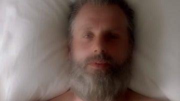 Viejo Rick en la octava temporada de 'The Walking Dead'
