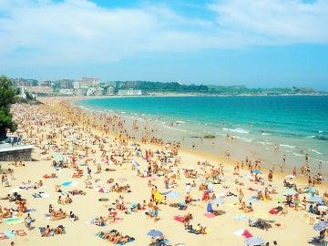 Playa El Sardinero, Santander