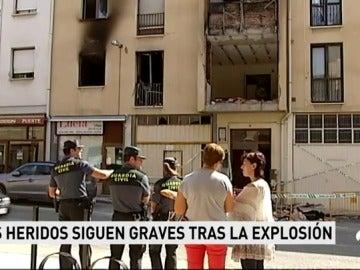 La Guardia Civil investiga si  la causa de la explosión en Navarra fue un intento de suicido del hombre