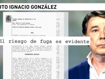 """Ignacio González continuará en la cárcel porque el juez aún ve """"riesgos de fuga"""" y por su """"papel decisivo"""" en el caso Lezo"""