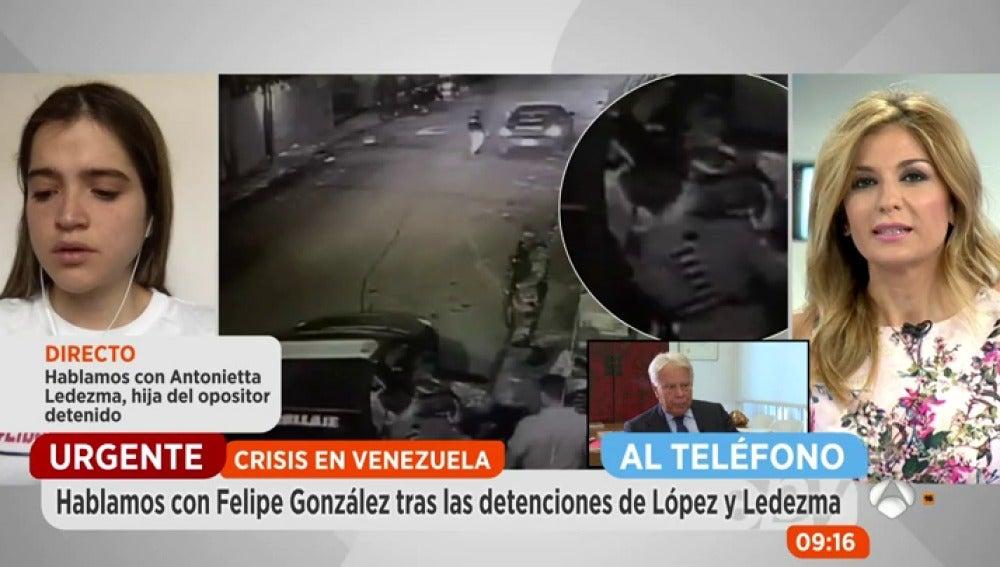 """Felipe González, tras la detención de Leopoldo López y Antonio Ledezma: """"El único apoyo de Maduro son las armas"""""""