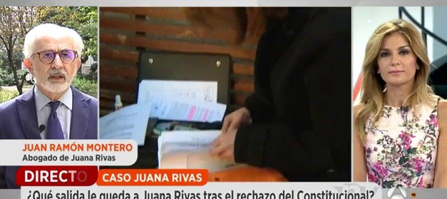 Antena 3 tv juan ram n montero abogado de juana vuelve for Antena 3 espejo publico hoy