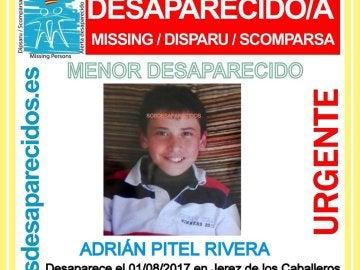 Menor desaparecido en Jerez de los Caballeros
