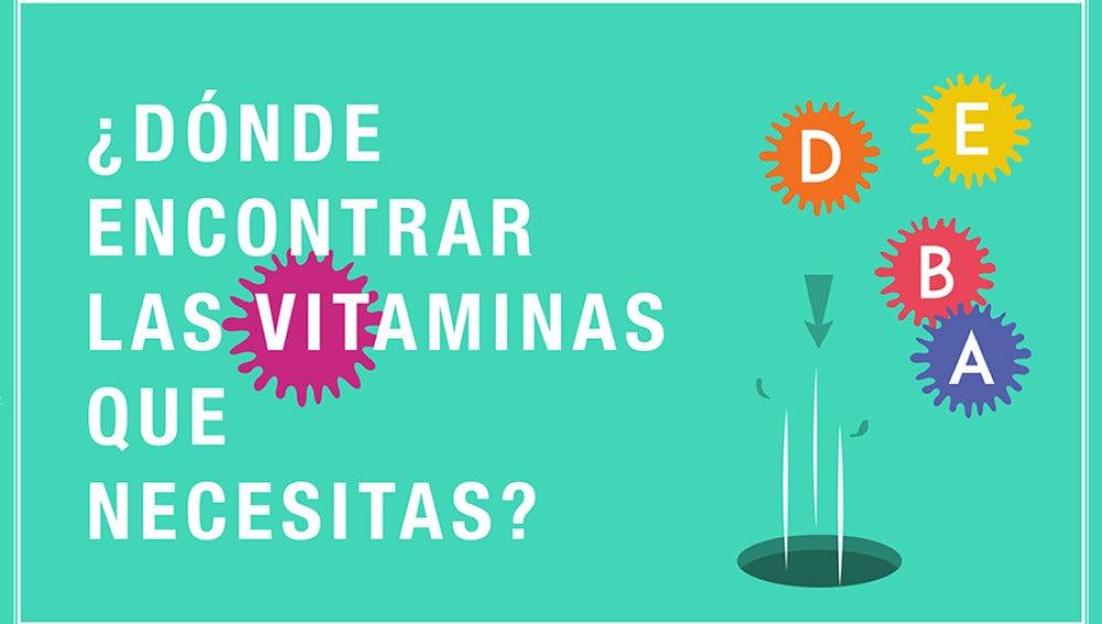 Vitaminos que necesitas