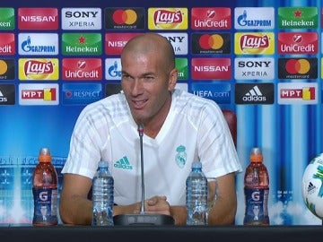 """Zidane: """"Si está con nosotros es porque Cristiano está para jugar"""""""