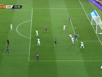 Deulofeu marca el primer gol del Barcelona 17/18 ante el Chapecoense