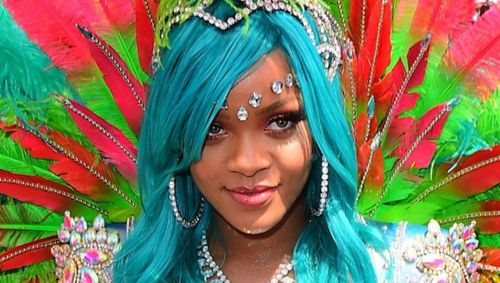 Rihanna en el festival Crop Over de Barbados 2017