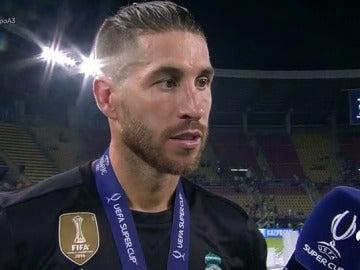 """Sergio Ramos: """"¿Fichajes? El mes de agosto es muy largo, en el fútbol nunca se sabe..."""""""