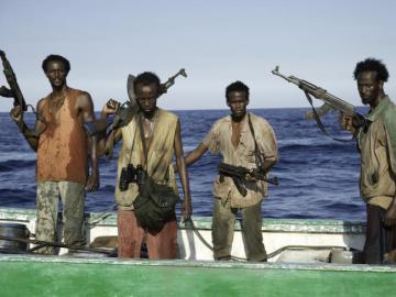 Piratas de la película 'Capitán Phillips'
