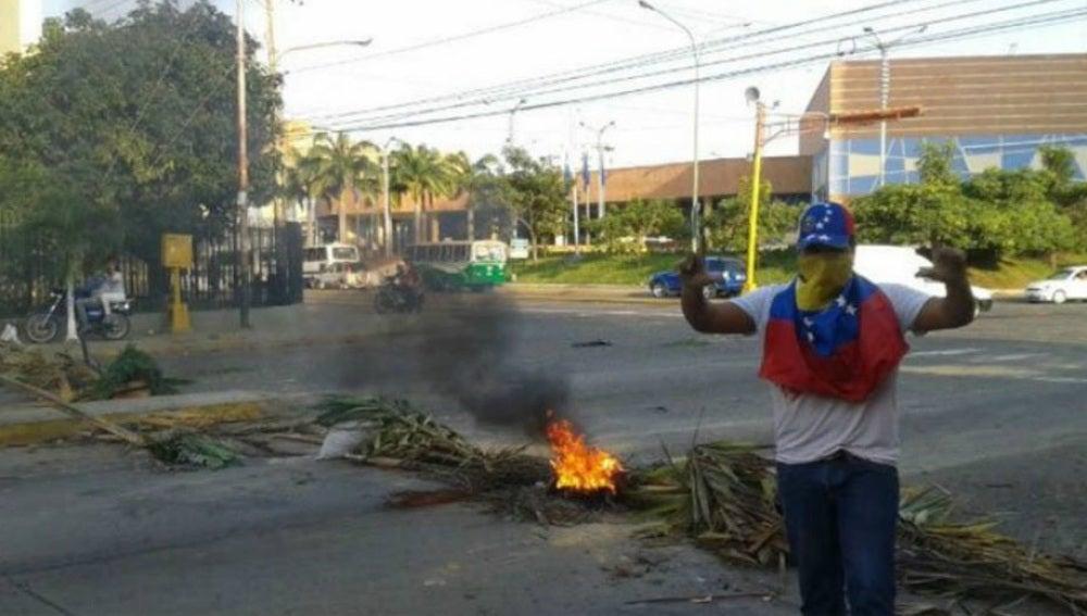 Protestas en Lara