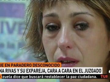 JUANA RIVAS Y SU EX, CARA A CARA EN EL JUZGADO