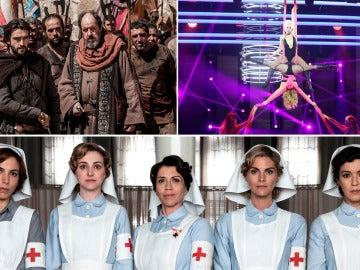 'La Catedral del Mar', 'Tu cara me suena' y 'Tiempos de guerra', entre las grandes apuestas de la nueva temporada de Antena 3