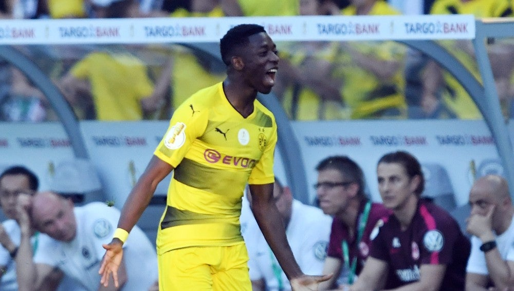 Dembelé, jugador del Borussia Dortmund