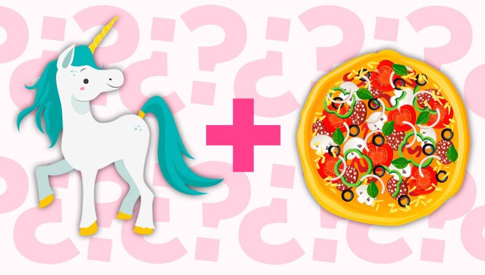 Pizza de unicornio