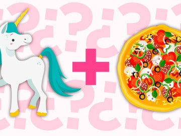 Pizza de unicornio