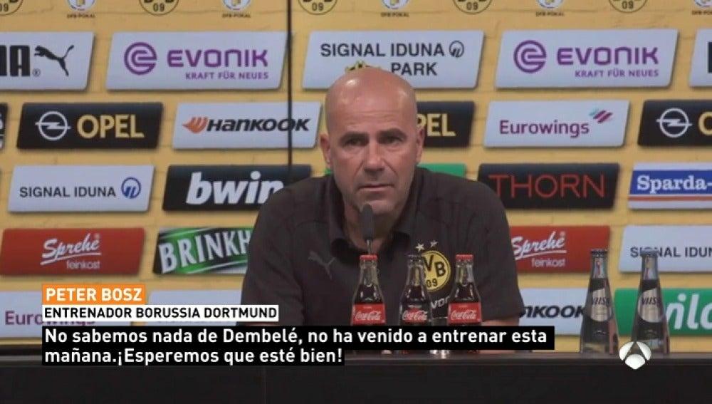 """Dembelé no se presenta a entrenar y en el Dortmund no saben dónde está: """"Desconocemos su paradero"""""""