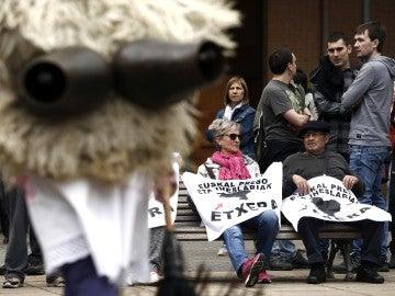 Manifestación por los presos de ETA