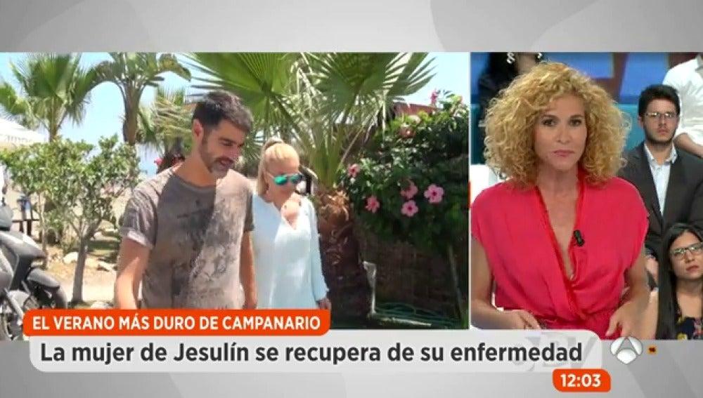 uenas noticias sobre el estado de salud de Jesulín de Ubrique y María José Campanario