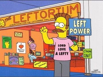 Ned Flanders en Leftorium
