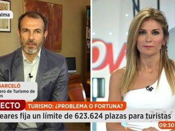 Biel Barceló, vicepresidente y consejero de turismo de Baleares