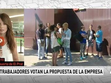 La plantilla de Eulen vota este jueves si acepta desconvocar la huelga en El Prat