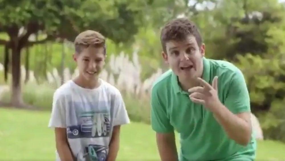 Arkano en el vídeo promocional