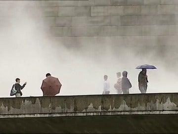 El frío sorprende a España en verano