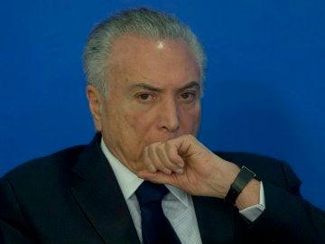 Michel Temer, presidente del país carioca