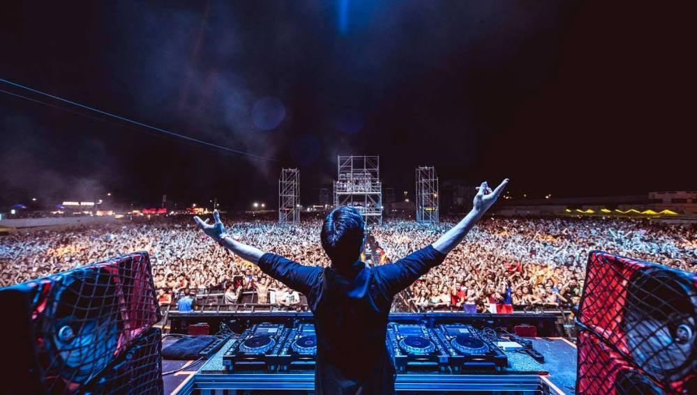 Escenario del Festival Arenal Sound 2017