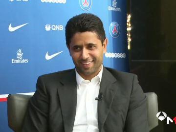 El jeque del PSG, Nasser Ghanim Al-Khelaïfi