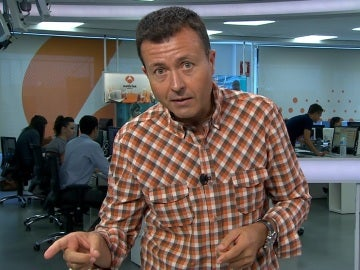 Manu Sánchez, presentador de los deportes de Antena 3