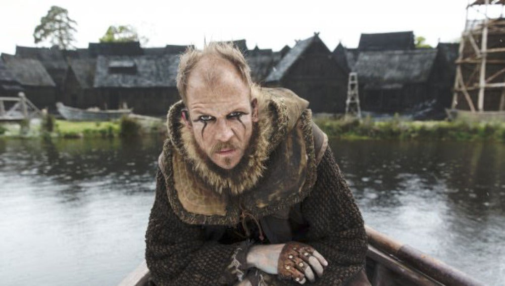 Gustaf Skarsgard en 'Vikings'