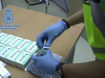 Detienen a una persona por vender a través de Internet medicamentos para combatir la disfunción eréctil