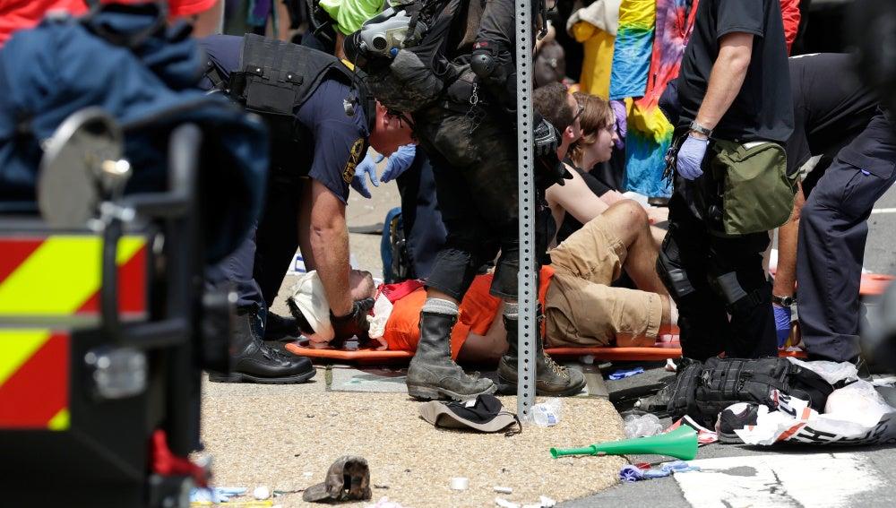 Varios heridos por un atropello masivo en EEUU