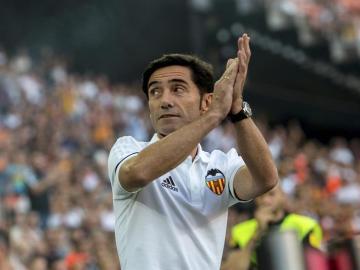 Marcelino García Toral, entrenador del Valencia CF