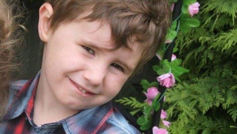El pequeño Connor Horridge