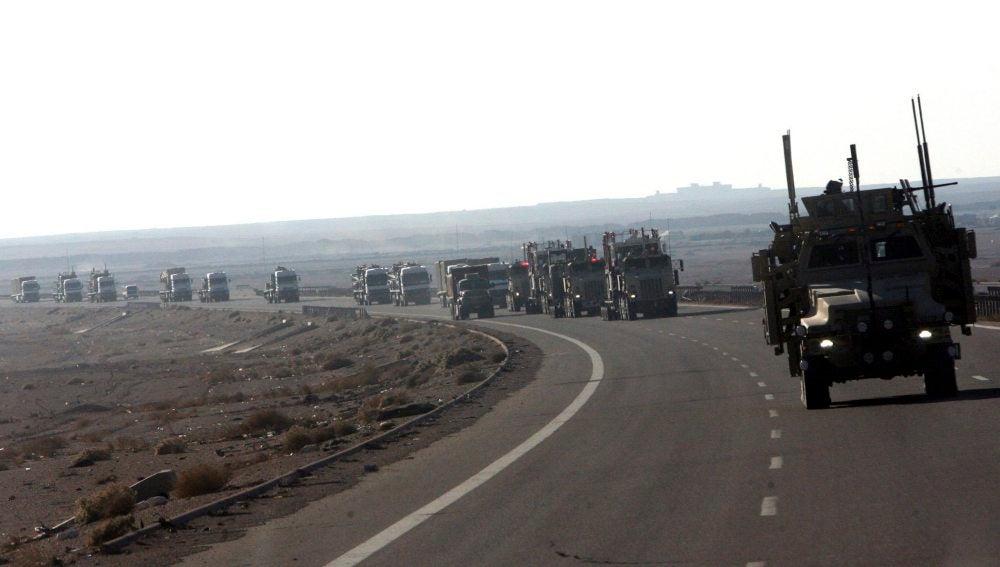 Las tropas de EEUU refuerzan su presencia en la frontera entre Irak y Siria.
