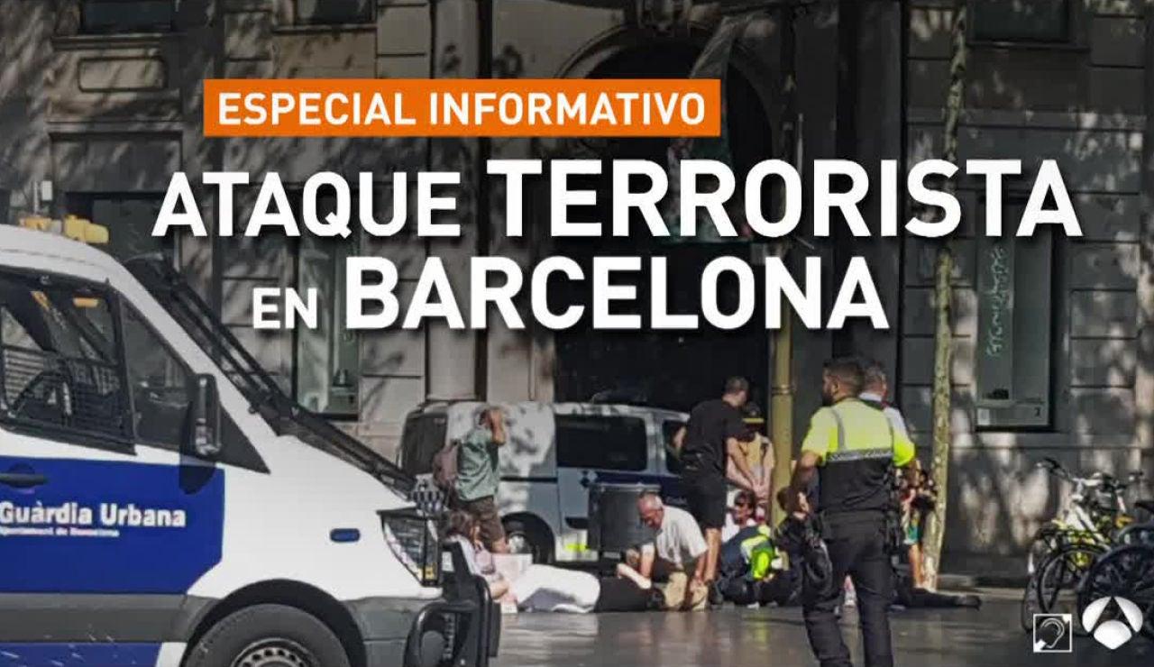 Especial Informativo: Ataque Terrorista en Barcelona