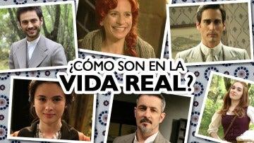 """Descubre a los actores de 'El secreto de Puente Viejo' sin el """"filtro vintage"""""""