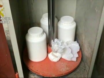 Desmantelan en La Rioja un nuevo laboratorio de adulteración y distribución de metanfetamina