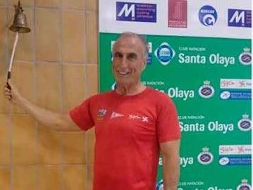 Antonio Sánchez Mondejar, durante un campeonato